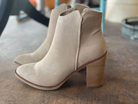 Patton Booties in Stone