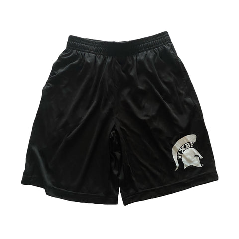 Black Spartan Athletic Shorts