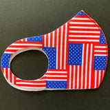 Patriotic Solid Washable, Reusable Fashion Face Covering