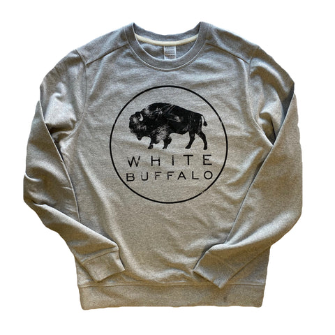 White Buffalo Crew Neck Sweatshirt