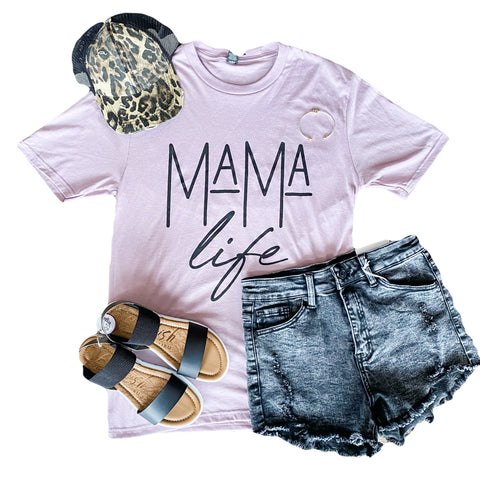 Orchid Mama Life Tee