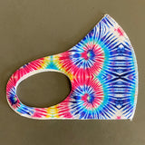 Tie Dye Washable, Reusable Fashion Face Covering