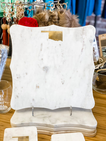 Oklahoma Marble Serving Board