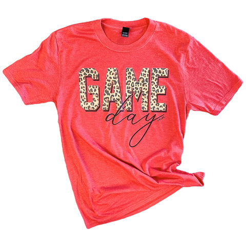 Game Day Leopard Tee