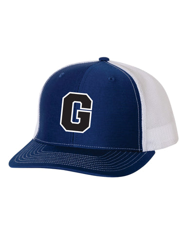 Glenpool Warriors Richardson Mesh Back Hat