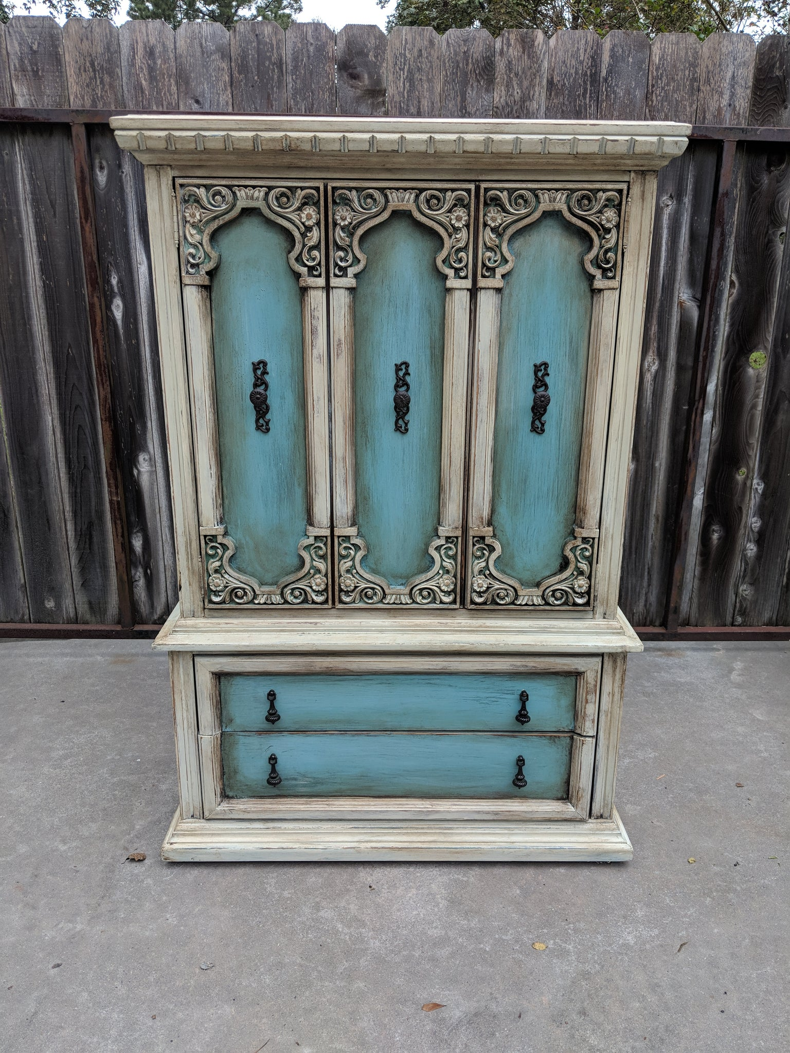 Ornate Armoire