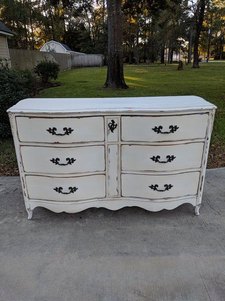 French Serpentine Dresser