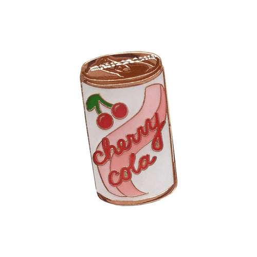 Cherry cola pin