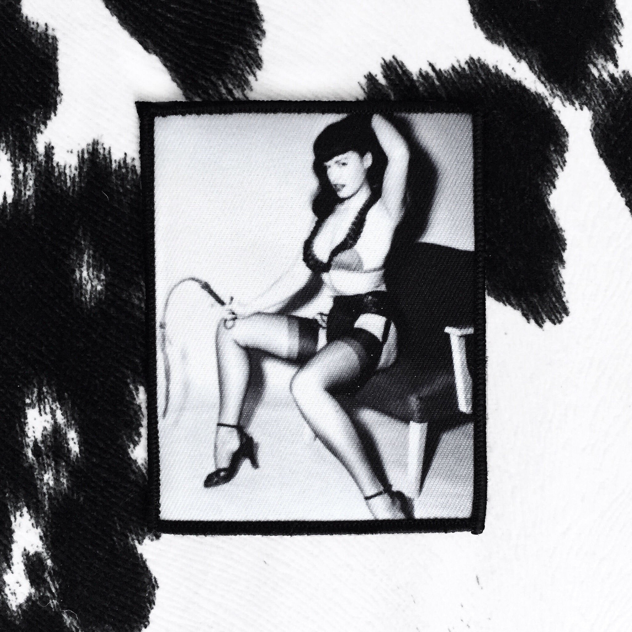 Bettie Page Patch