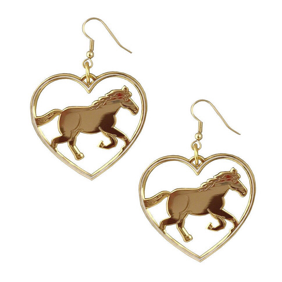 Wild at heart earrings