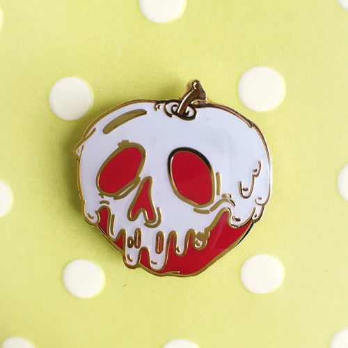 Poison apple pin