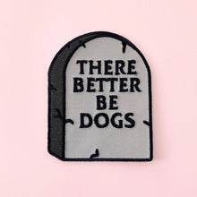 Dogs tombstone patch