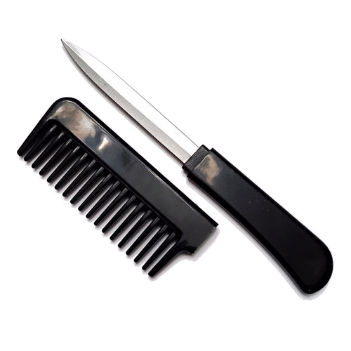 Black Secret Knife Comb