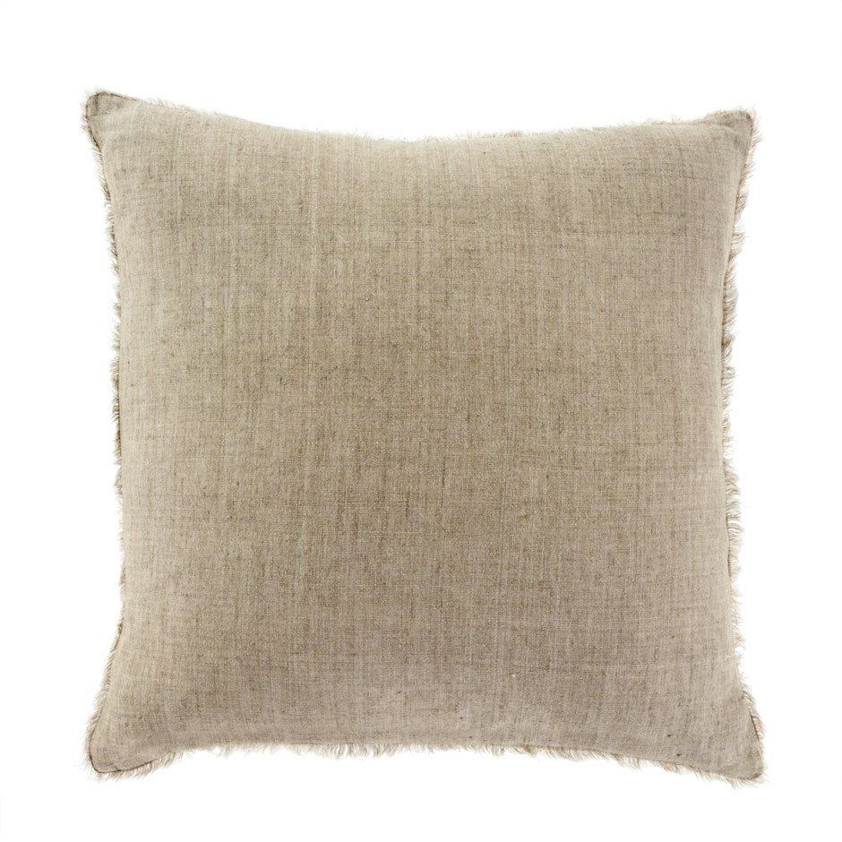 Lina Linen Pillow - Sand