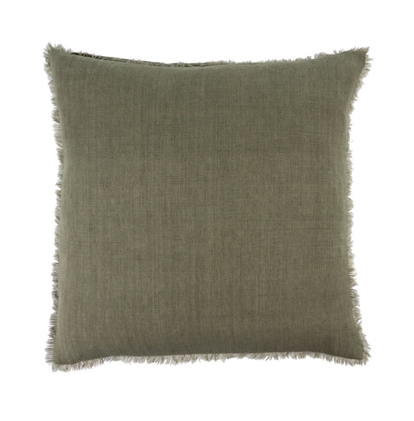 Lina Linen Pillow - Laurel