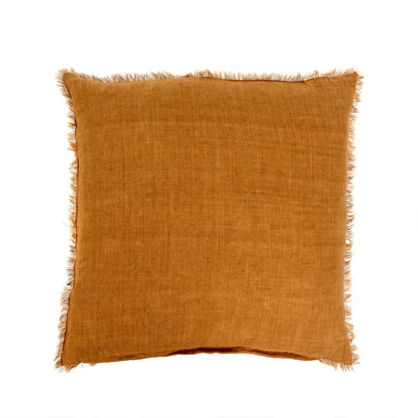 Lina Linen Pillow - Tobacco