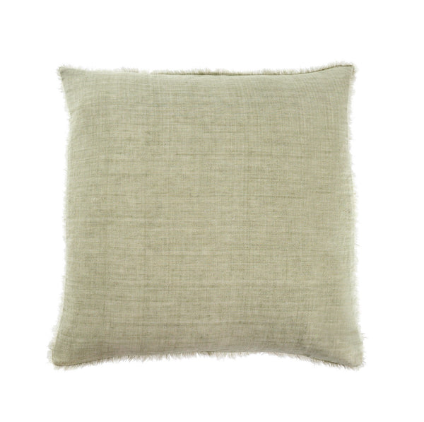 Lina Linen Pillow - Olive