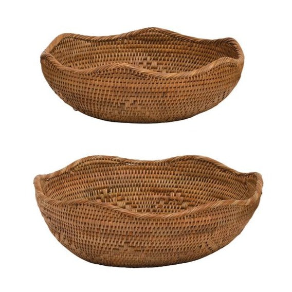Rattan Bowls - Three Sizes Available