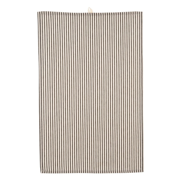B+W Ticking Stripe Tea Towel