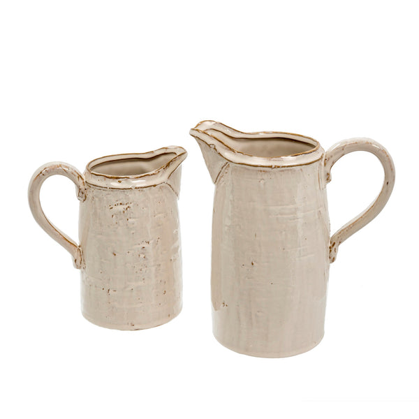 Finn Stoneware Pitchers - Two Sizes Available