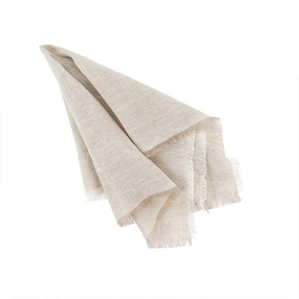 Set of 4 Linen Napkins - Chambray