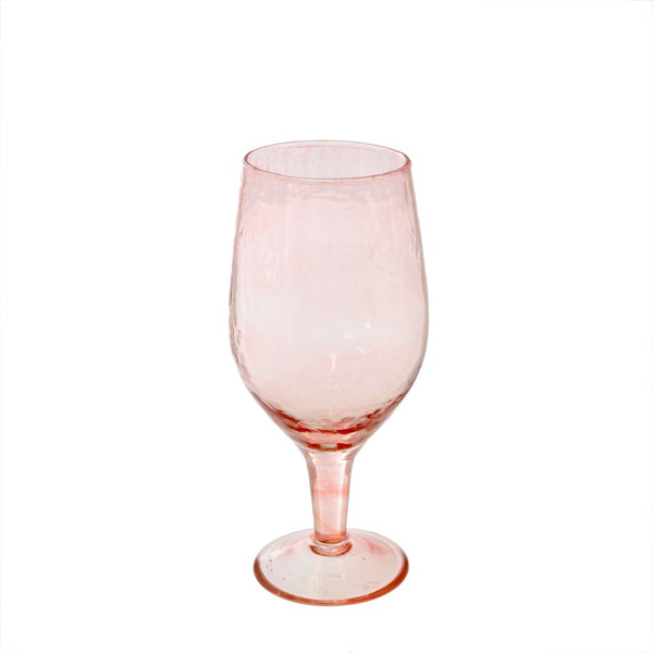 Ava Wine Glass - Blush