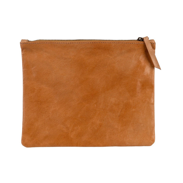 Leather Pouch - Terracotta