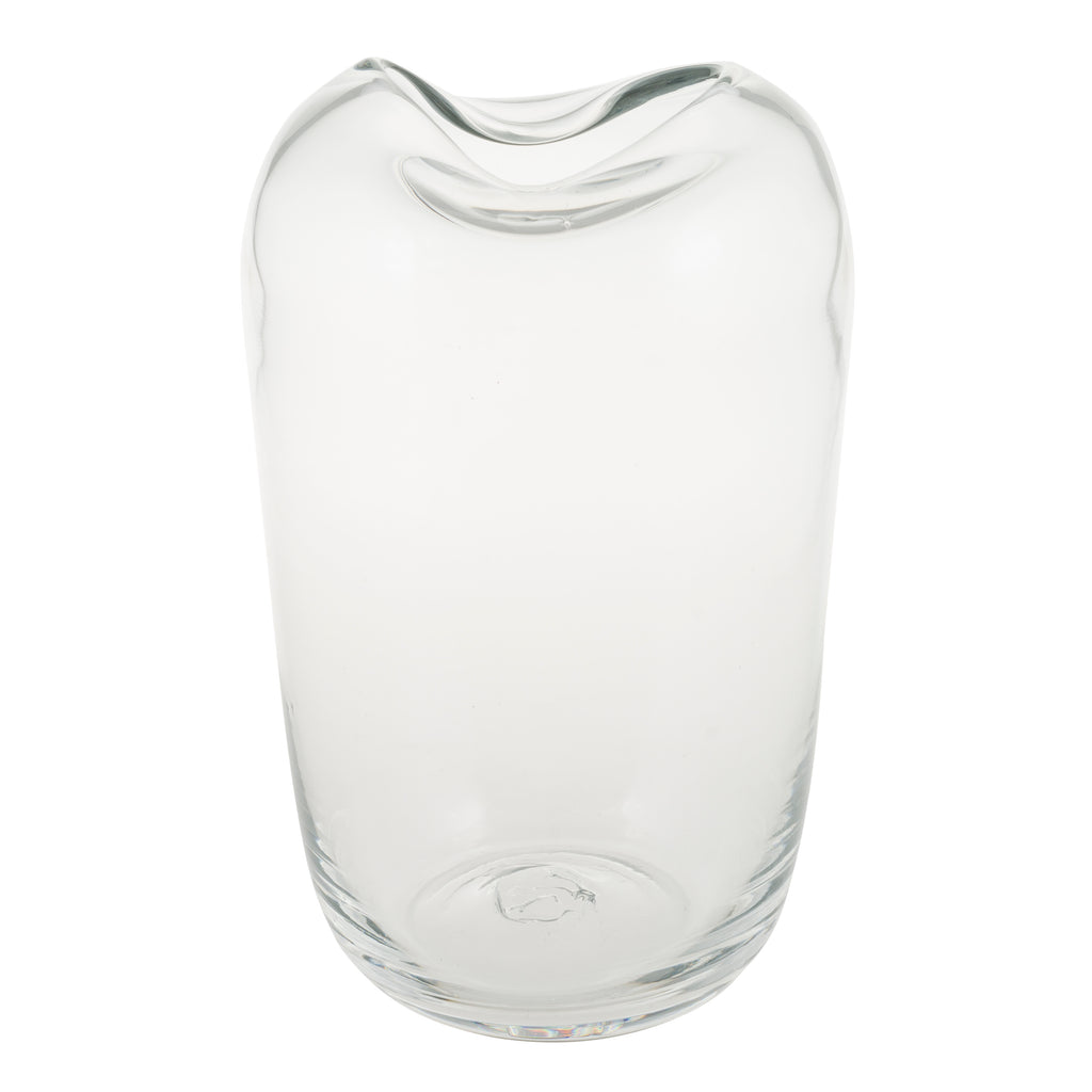 Ginevra Glass Vase - Clear
