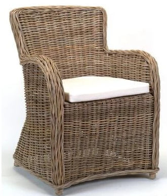 Milo Rattan Armchair w Cushion