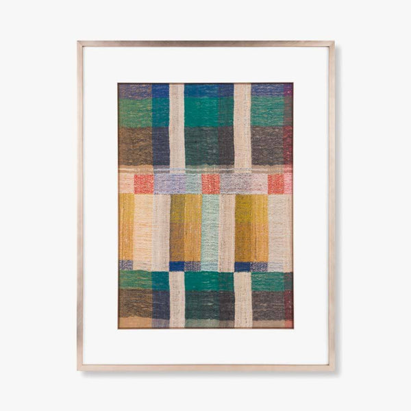 Framed Woven Art - Silk Road