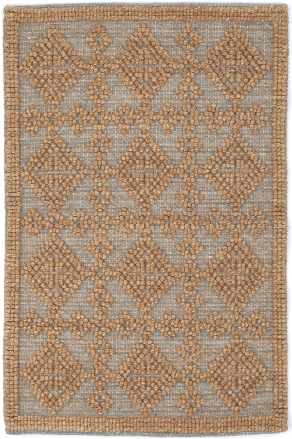 Dash & Albert - Alpine Diamond Slate Wool Rug