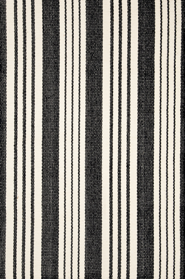 Dash & Albert - Birmingham Black Indoor/Outdoor Rug