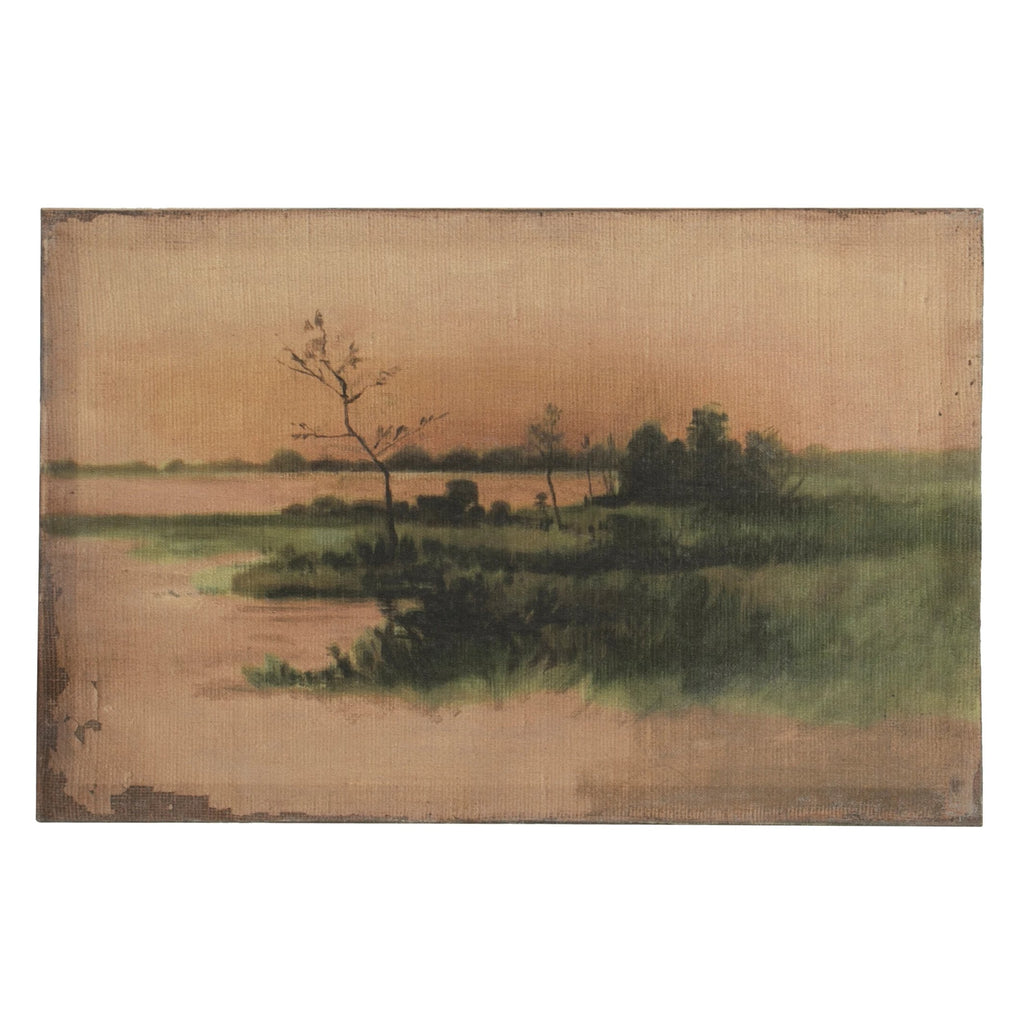 Vintage Reproduction Landscape Print