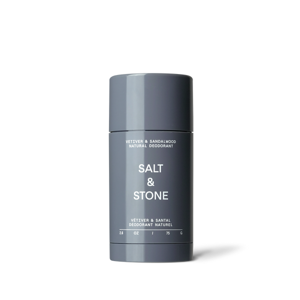 Salt & Stone Natural Deodorant - Vetiver and Sandalwood