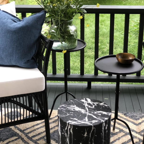 Simple Metal Side Table