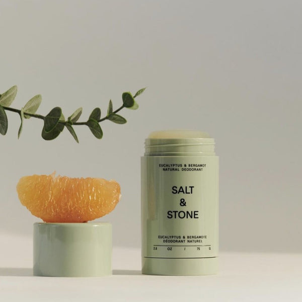 Salt & Stone Natural Deodorant - Eucalyptus and Bergamot