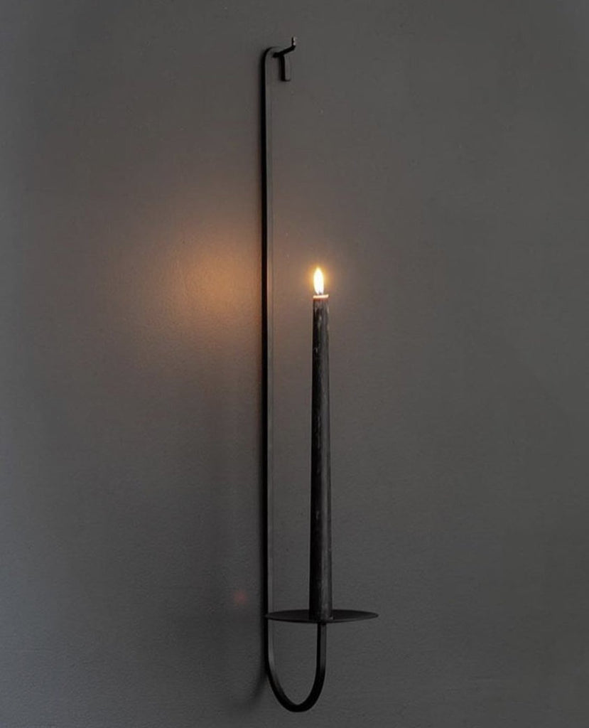 Iron Candle Holder - Single Arm