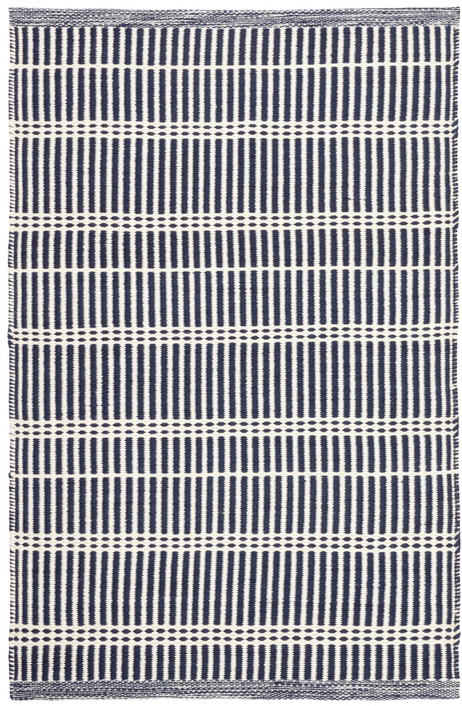 Dash and Albert - Marlo Navy Indoor/Outdoor Rug