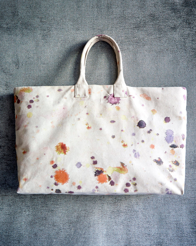 Woodstock Weekend Tote - Splatter Red