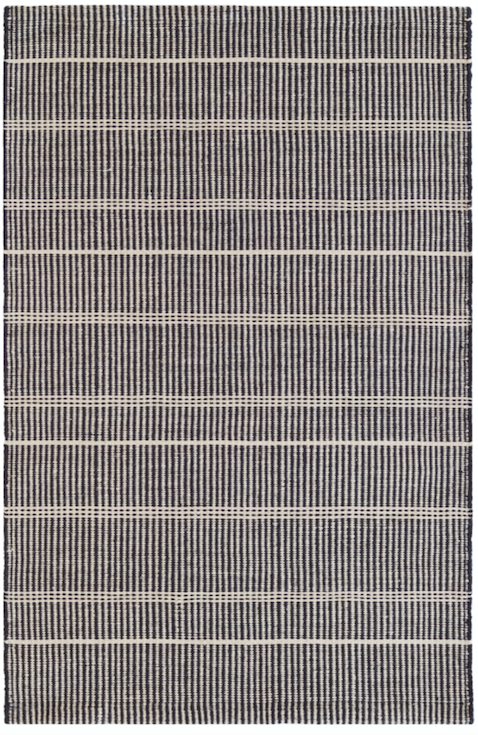 Dash & Albert - Samson Black Indoor/Outdoor Rug