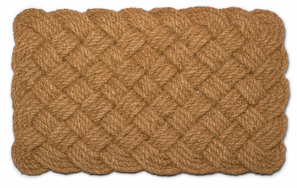 Natural Braided Door Mat