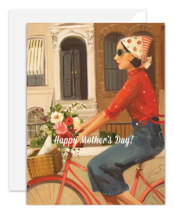 Brownstones Mother's Day Card from Janet Hill Studio