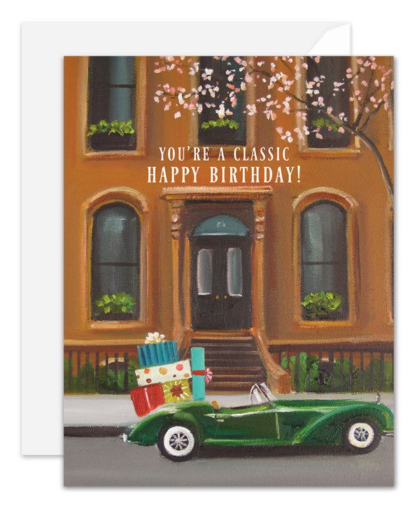 You're A Classic Birthday Card from Janet Hill Studio