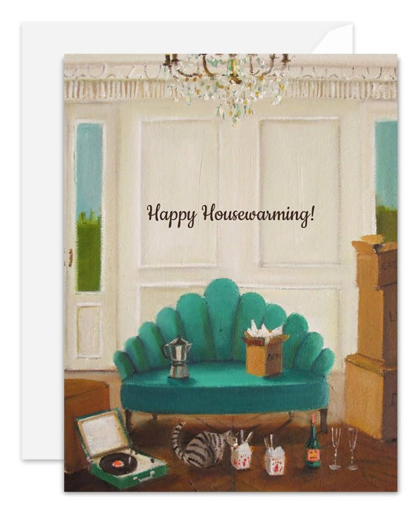 Happy Housewarming Card from Janet Hill Studio