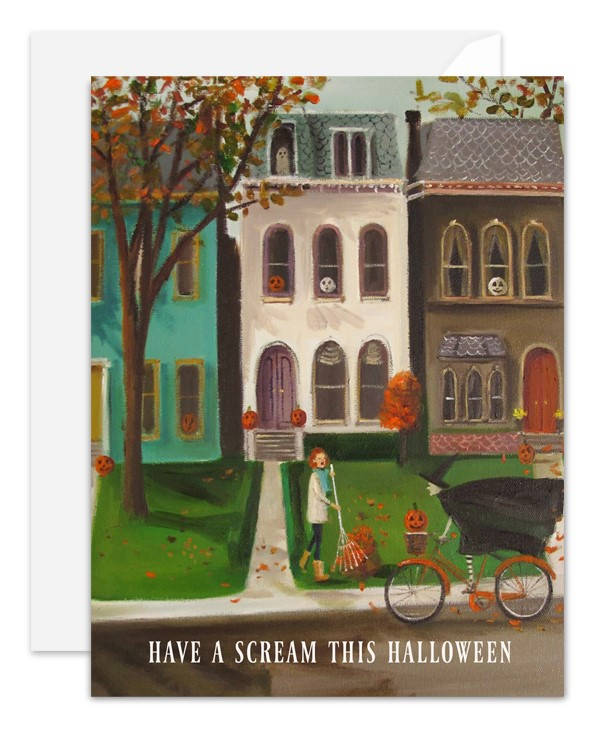 Have a Scream this Halloween Card from Janet Hill Studio