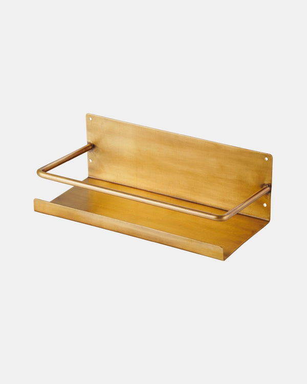 Solid Brass Shelf