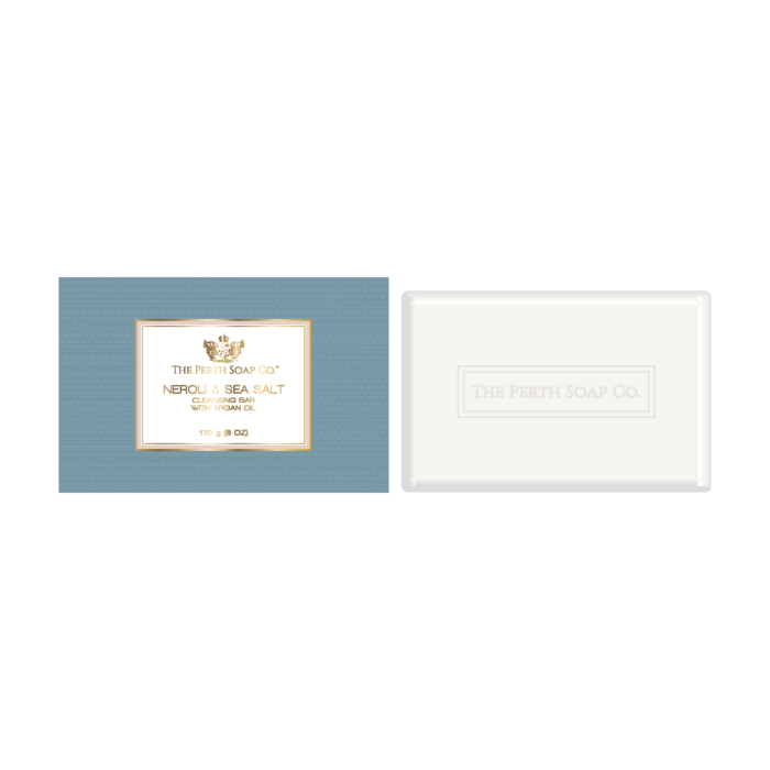 Perth Soap Co. - Neroli & Sea Salt Cleansing Bar