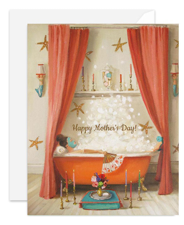 Princess Edwina Mother's Day Card from Janet Hill Studio