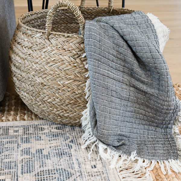 Nora Seagrass Baskets