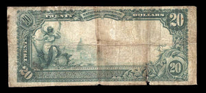 1902 - $20 Note Gainesville – Florida – CH 3894 – FR 652 – VG8